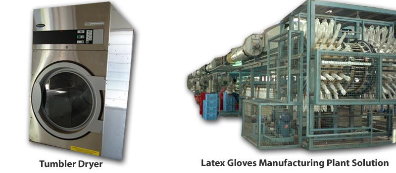 Latex Gloves Manufacturing Plant & Equipment
